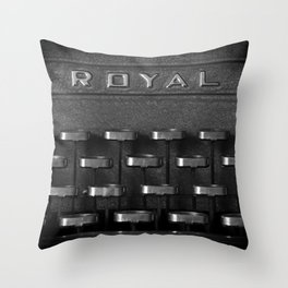 A command performance Throw Pillow