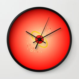 Mars Power Wall Clock