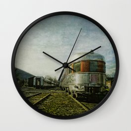 Rip Van Winkle Flyer Wall Clock