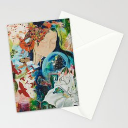 YOU ARE NOT ALONE Stationery Cards