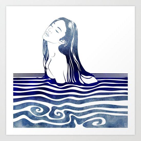 Water Nymph VIII Art Print