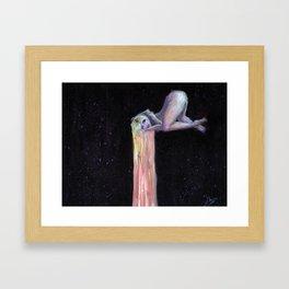 My love, so sweet Framed Art Print