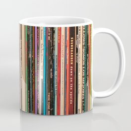 Alternative Rock Vinyl Records Coffee Mug