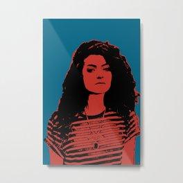 Lorde Metal Print