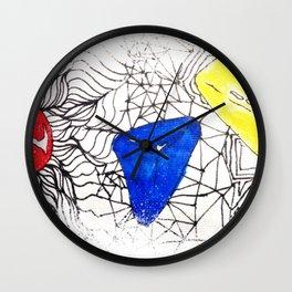 Basics Doodle Wall Clock