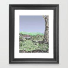 HOLSTEINS Framed Art Print