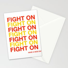 USC FIGHT ON HAVE A NICE DAY - SOUTHERN CALIFORNIA Stationery Cards