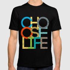 Choose Life MEDIUM Mens Fitted Tee Black