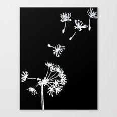Dandelion 2 Drawing Canvas Print