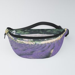 Lavender Fields of Provence Fanny Pack