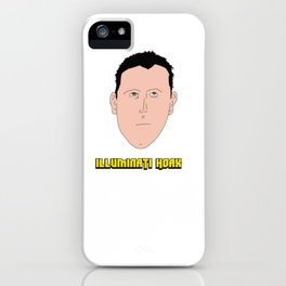 Mark Dice the Illuminati Hoax iPhone Case
