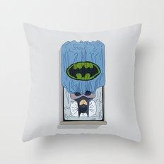 Bat Night Throw Pillow