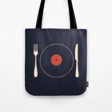 Vinyl Food Tote Bag