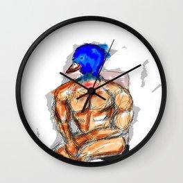 Bird Muscles Wall Clock