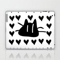 LOVE LOVE CAT Laptop & iPad Skin
