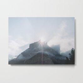 Dolomites - dolomiti - print - travel - landscape - nature - mountains - photo - design - decoration Metal Print