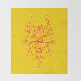 CarnaBot by Sekond Throw Blanket