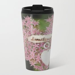 Hey There, Sweetheart Metal Travel Mug