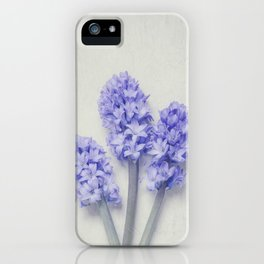 Bright Lilac Hyacinths iPhone Case
