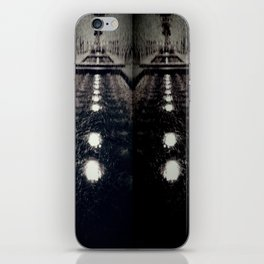 Darker Still - Fountain in Midnight and Black iPhone Skin