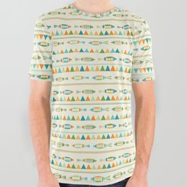 Scandy Fsh All Over Graphic Tee