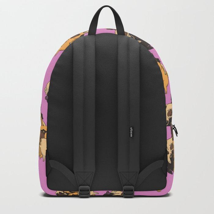 Pugs Group Hug Backpack