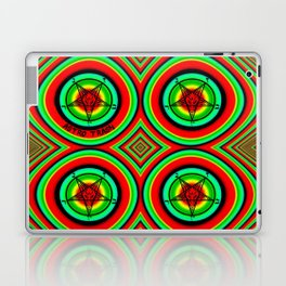 Trippy Satanic Laptop & iPad Skin