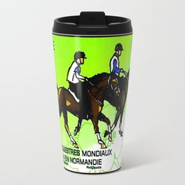 2014 FEI World Equestrian Games in Normandy Endurance stamp Travel Mug