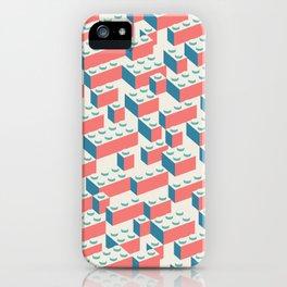Building Blocks Pattern – Colour iPhone Case