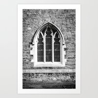 Maynooth Church Pt.1 Art Print