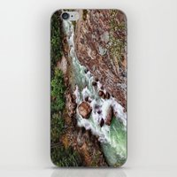 river song iPhone & iPod Skins featuring SONG OF THE RIVER by Mark Wheatley
