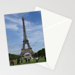 Eiffel Tower on Sunny day Stationery Cards