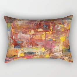 Medieval Village Rectangular Pillow