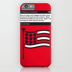 No033 MY The Making of Americans Book Icon poster Slim Case iPhone 6s