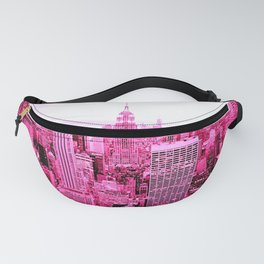 New York City Pink Fanny Pack