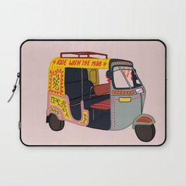 Ride with the Mob Laptop Sleeve
