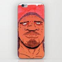 kate bishop iPhone & iPod Skins featuring Bishop by Davel F. Hamue
