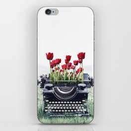 The Poem I Never Wrote iPhone Skin