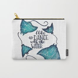 Dance With The Water Carry-All Pouch