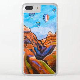 Magical Journey Clear iPhone Case