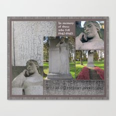 For the Fallen I Canvas Print