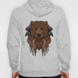Tribal Bear Hoody