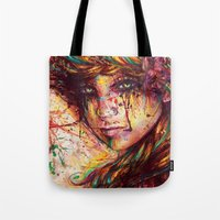 russian Tote Bags featuring Russian braid by ururuty