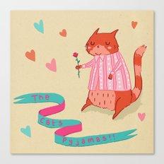 The Cat's Pyjamas Canvas Print