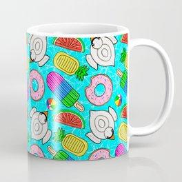 Pool Float Party Coffee Mug