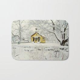 Winter in New England - Aquidneck Island Bath Mat