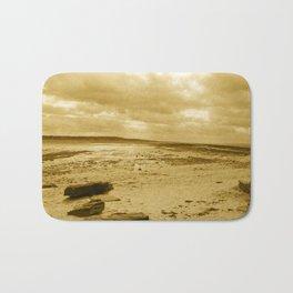 Low Tides - Sepia Palette Bath Mat