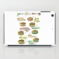 biology iPad Cases featuring Bagel Biology by Faye Finney