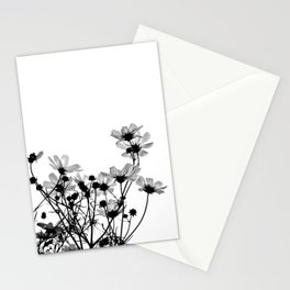 COSMOS - BW Stationery Cards