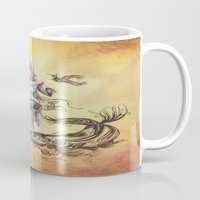 religious Mugs featuring Jesus Christ and Religious Symbols by Sonya ann